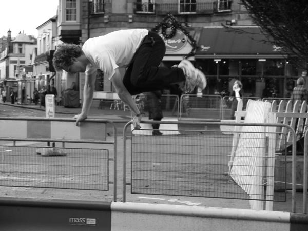 Jump the barrier