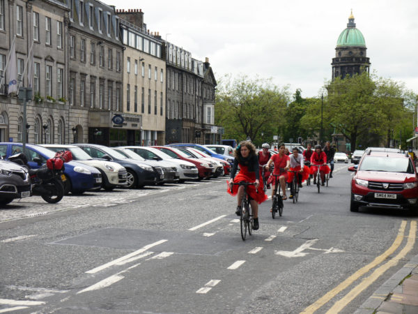 Edinburgh Festival of Cycling - George St.